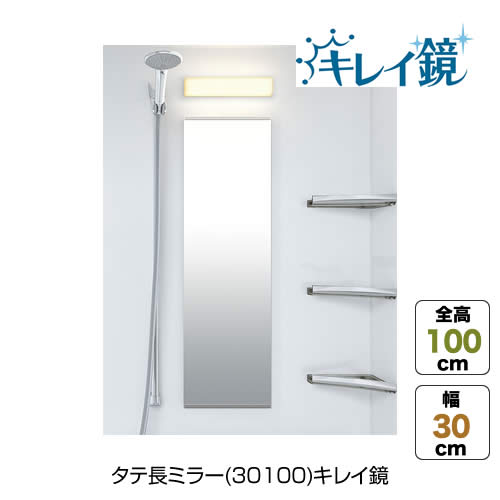 タテ長ミラー(30100)キレイ鏡