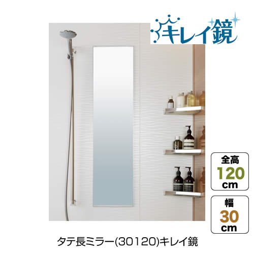 タテ長ミラー(30120)キレイ鏡