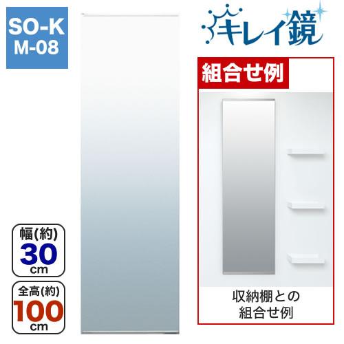 タテ長ミラー(30100) キレイ鏡