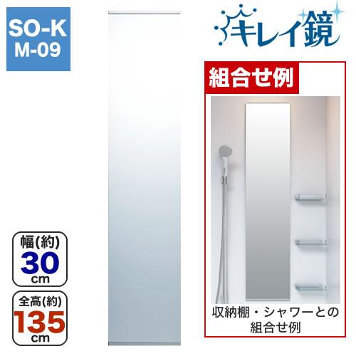 タテ長ミラー(30135) キレイ鏡