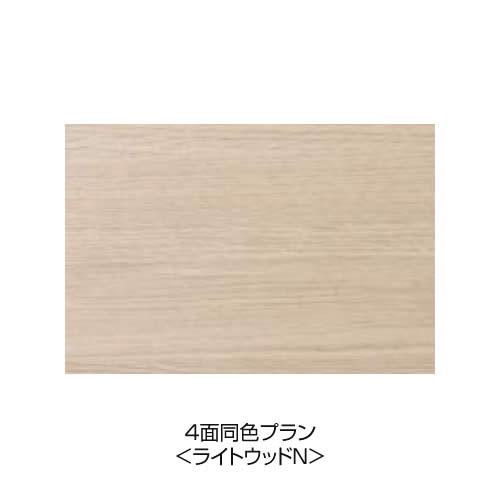 4面同色プラン <ライトウッドN(ツヤ消し)>